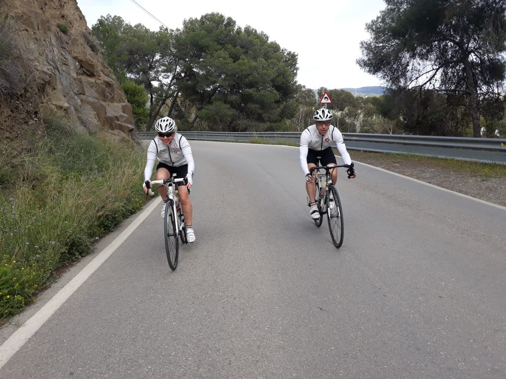 Cycling Here On The Costa Del Sol Under The Warm Sun On The Best Roads